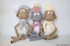 very cute plushies plus pattern Amigurumi Toys, Softies, Plushies, Cute Lamb, Sheep And Lamb, Cute Toys, Sewing Toys, Reno, Stuffed Toys Patterns