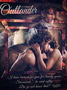 Claire and Jamie Fraser Outlander Fan Art, Outlander Season 4, Outlander Quotes, Outlander Book Series, Sam Heughan Outlander, Outlander News, Gabaldon Outlander, Diana Gabaldon, Jaime Fraser