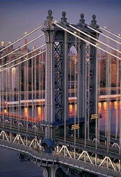 manhattan bridge, new york - photo by peter lik Brooklyn Bridge, Manhattan Bridge, Lower Manhattan, Manhattan Nyc, Brooklyn Nyc, London Bridge, New York Tumblr, The Places Youll Go, Places To See