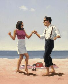 Jive - Jack Vettriano's oil paintings from http://www.paintingsframe.com/Jack+Vettriano-painting-c36.html