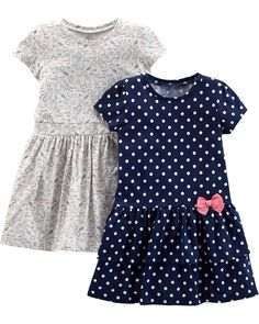 Simple Joys by Carter's Baby and Toddler Girls' Short-Sleeve and Sleeveless Dress Sets Cute Girl Outfits, Kids Outfits Girls, Cute Outfits For Kids, Girls Dresses, Baby Dresses, Casual Dresses, Summer Dresses, Cute Kids Fashion, Toddler Fashion