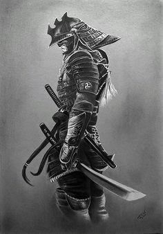 Japanese Warrior Tattoo, Japanese Tattoo Art, Japanese Tattoo Designs, Japanese Sleeve Tattoos, Samurai Tattoo Sleeve, Samurai Warrior Tattoo, Warrior Tattoos, Warrior Tattoo Sleeve, Armor Tattoo