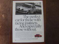 1994 Oldsmobile Achieva SC - Perfect - Classic Vintage Advertisement Ad