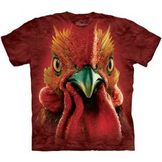 Rooster Head Tee Adult