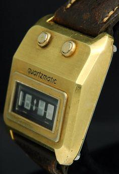 Westclox Quartzmatic Dynamic Scattering DSM LCD Digital watch | Modern Greed
