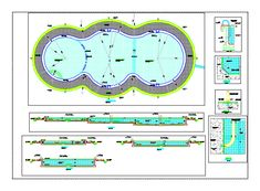 Swimming Pool Details Dwg Autocad Drawing Construction Details Architecture Pinterest