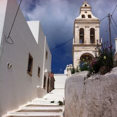 Chora, Kythera, Greece, right outside our room :) Greece Islands, Vacations, Places To Go, The Outsiders, Landscapes, Greek, Earth, Spaces, Water