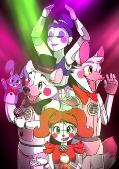 Sister location by Crystal Wolf 567 on deviant art Ballora Fnaf, Anime Fnaf, Fan Art, Sister Location Baby, Toy Bonnie, Fnaf Baby, Creepy, Fnaf Wallpapers, Circus Baby