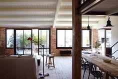 bricks & wood - industrial inspiration