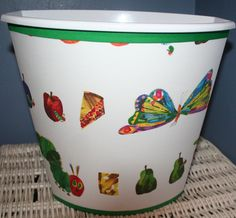 Kids' & Teens Home Items Hungry Caterpillar Nursery, Very Hungry Caterpillar, Eric Carle, Rainbow Baby, Reading Nook, Pottery Barn Kids, First Birthdays, Kids Room, Handmade Gifts