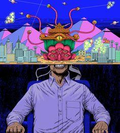 Uno Moralez: Космическое и комическое