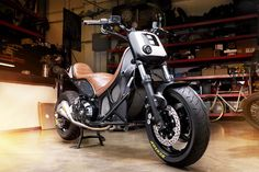 To know more about YAMAHA T-Max Hypermodified Roland Sands, visit Sumally, a social network that gathers together all the wanted things in the world! Featuring over other YAMAHA items too! Yamaha Fz Bike, Tmax Yamaha, Yamaha Fz 150, Yamaha Cafe Racer, Cafe Racers, Yamaha Scooter, Yamaha Motorbikes, Scooter Motorcycle, Moto Bike