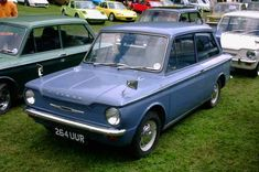 Hillman Imp - some say, better than the Mini, but only in a small voice. Retro Cars, Vintage Cars, Retro Vintage, Car Badges, Morris Minor, Old Cars, Motor Car, Classic Cars, Automobile