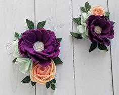 Easter Felt Flower Crown - Floral Headband - Floral Crown - Floral Hair Accessory - Felt Flower Accessory - Toddler Headband