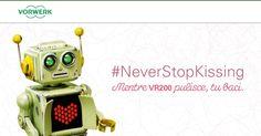 #Folletto lancia una sfida a tutti gli innamorati con #NeverStopKissing :D  Fotografiamo e condividiamo! #ad