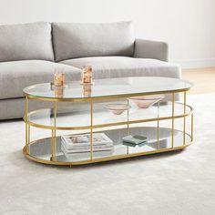 Terrace Pill Coffee Table | West Elm
