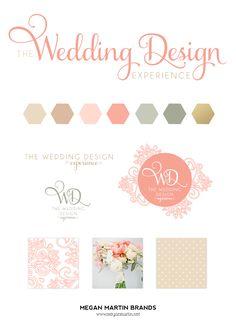 The Wedding Design Experience_Brand Board Design_Megan Martin Brands