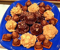 3 Yummy/Easy Cookies: Mint Brownies, White Chocolate Peanut-butter Krispies & Rolo Pretzels