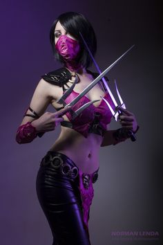 Mileena Wins // Mortal Kombat X Cosplay by SatsuMadAtelier Check out http://hotcosplaychicks.tumblr.com for more awesome cosplay