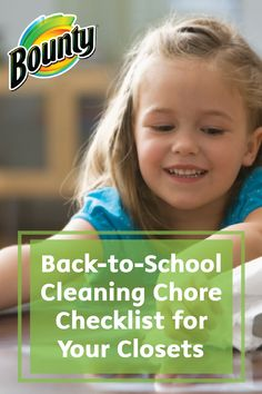 Back-to-School season is the perfect opportunity to straighten out your home before hectic schedules and busy days take over. This Cleaning Chore Checklist for Your Closets can help you in the organization process.