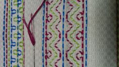 Huck Embroidery a.a Swedish Weaving - November Stitches Muse (class) Naniamo BC Huck Towels, Swedish Embroidery, Swedish Weaving, November 2, Darning, Sewing For Kids, Needlework, Free Pattern, Crafts For Kids
