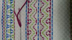 Huck Embroidery a.k.a Swedish Weaving - November 2, 2012, Stitches Muse (class) Naniamo BC