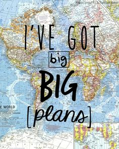 "karalynnp123:  ""There's a map in my room, on the wall of ky room, and I've got big, BIG plans.""- Maps by The Front Bottoms"
