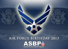 Happy 66th birthday to the @U.S. Air Force from your friends at the ASBP! #AirForce #birthday