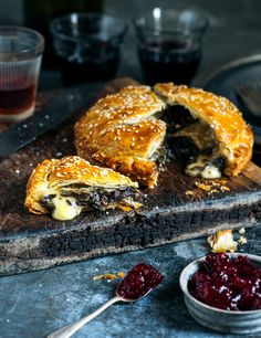 Brie & Mushroom Pithiviers |~From the Kitchen~|