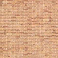 Aged Factory Brick Paper 4 Sheets O Scale Miniature