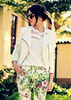 Santa Maria ( Sunglasses & Studded Leather Jackets )