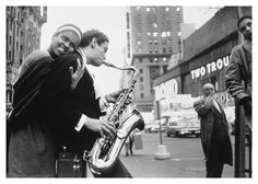 Wiliam Claxton, Times Square, New York City, 1960