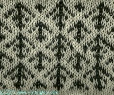Bird Wing 2 - Knittingfool Stitch Detail