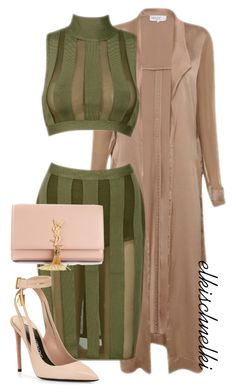 Untitled #989 by elkischnelki on Polyvore featuring polyvore fashion style Tom Ford Yves Saint Laurent women's clothing women's fashion women female woman misses juniors