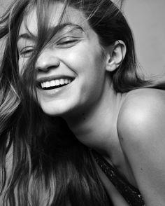 Gigi Hadid by Ulrich Knoblauch (Ph. Gigi Hadid Smile, Kendall Jenner, Kristina Pímenova, Great Smiles, Img Models, Portraits, Bella Hadid, Pretty People, Beautiful People