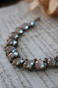 「アンティークジュエリー サフィレットブレスレット 16ストーン」ココン・フワット Coconfouato [アンティーク照明&アンティーク家具] アンティークジュエリー ロザリオ ジュエリー シルバー リング ブローチ ネックレス 指輪 --jewelry--