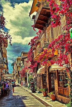 Greece Travel Inspiration - Town of Nafplio (Peloponnese) Greece...I MUST visit this place!