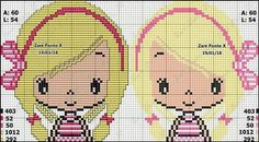 Stitch Doll, Stitch 2, Cross Stitch Designs, Cross Stitch Patterns, Plastic Canvas Stitches, Buzz Lightyear, Sweet Girls, Couture, Crochet