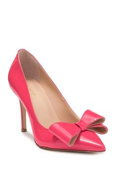 Pump it up with Nordstrom Rack's wide selection of women's high heels & stilettos. Browse stylish heels & find top designer brands at up to off. High Heels Stilettos, Stiletto Heels, Womens High Heels, How To Look Pretty, Nordstrom Rack, Kitten Heels, Kate Spade, Leather Bow, Bows