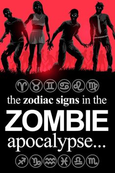 The Zodiac Signs In The Zombie Apocalypse. ★ The Zodiac Signs In The Zombie Apocalypse. Zombie Apocalypse Survival, Zombie Apocolypse, Apocalypse Art, Dog Zodiac, Zodiac Signs, Zombie Attack, Zombie Movies, Vogue, Drawing