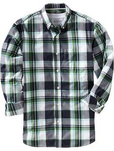 18ce7f46624 Mens Everyday Classic Regular-Fit Shirts Button Up Shirts