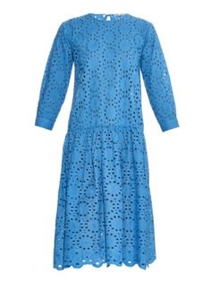 Lucca broderie-anglaise cotton dress | Queene and Belle | MATCHESFASHION.COM UK
