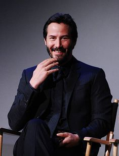 Actor Keanu Reeves attends the Apple Store Soho Presents: Meet The Actors: Keanu Reeves, Alfie Allen, Chad Stahelski, David Leitch And Basil Iwanyk,'John Wick' at Apple Store Soho on October 13, 2014 in New York City.