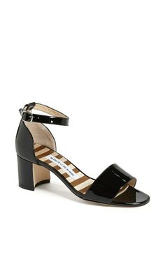 Manolo Blahnik 'Lauramod' Patent Leather Sandal available at #Nordstrom