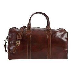 d4869f2e8576 Alberto Bellucci Amato Duffel Bag Leather Duffle Bag, Leather Luggage,  Duffel Bag, Weekender