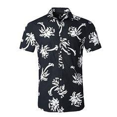 NUTEXROL Hawaiian Shirts Mens Bamboo Print Beach Aloha Party Holiday,,,Price: $21.99 - $22.99 buy from Amazon Clothes For Big Men, Aloha Party, Mens Hawaiian Shirts, Palm Tree Print, Fashion Brands, Beachwear, Bamboo, Men Casual, Holiday