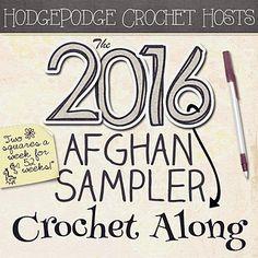 2016 Crochet~Along ~ Set to go live on 1-1-2016
