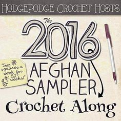 2016 Crochet~Along ~ Set to go live on 1-1-2016
