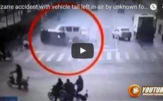 (VIDEO) In Cina Incidente Misterioso 3 Automobili Sollevate Da Una Forza Invisibile - Il Video Fa Il Giro Della Rete n Cina Incidente Misterioso 3 Automobili Sollevate Da Una Forza Invisibile -  Il video che vi proponiamo oggi è un'incidente e che ha del soprannaturale, quello ripreso da una telecamera in un incro #incidente #misterioso #cina #video
