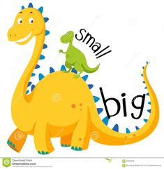 Image result for big and small
